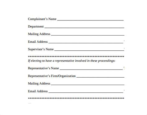 Seiu Grievance Form by Grievance Form Olala Propx Co