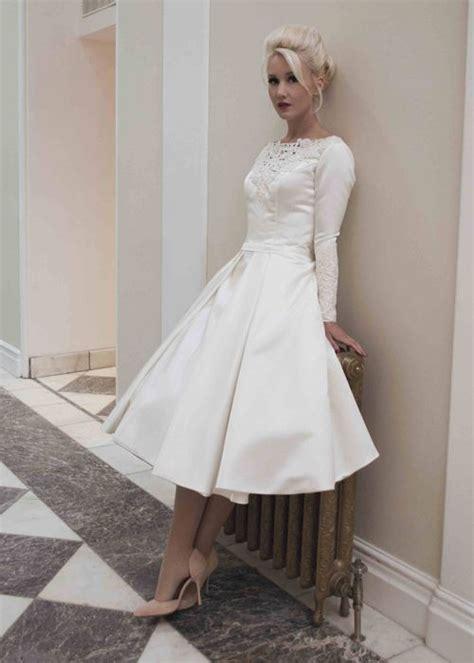 fitted tea length dress martha short satin tea length