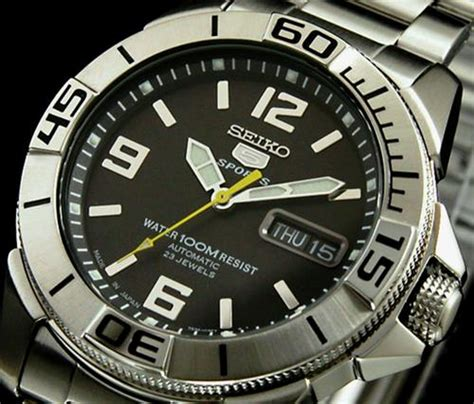 s watches new seiko oceanmaster 100m 23 jewels self