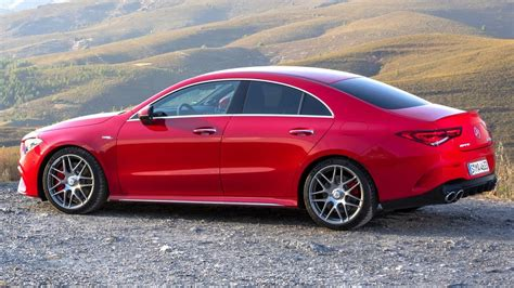 The base cla 250 is powered by turbocharged. 2020 Mercedes-AMG CLA 45 S 4MATIC+ - Jupiter Red Sports ...
