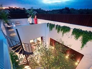 Rooftop, Terrace, Home, Designs