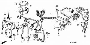 Wire Harness  U0434 U043b U044f Vt1100c2 Honda