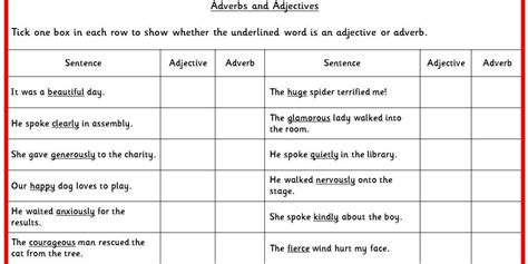 worksheets on adjectives ks2 two differentiated literacy activities using adjectives