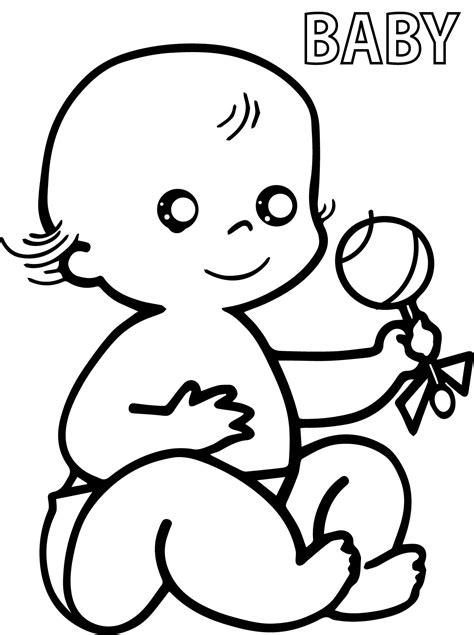 preschool baby coloring pages wecoloringpagecom