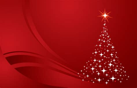 Christmas Tree Background Red Clip Arts, Free Clipart