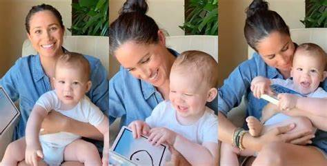 And while their twinning vibes do have. Meghan Markle And Prince Harry Share Adorable Video Of ...