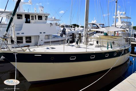Boat Show Ta Fl by 1987 Ted Brewer 50 Pilothouse Ketch Sail New And Used