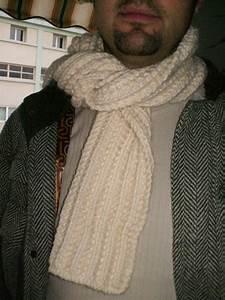 Echarpe Homme Tricot : echarpe laine homme tricot laine et tricot ~ Melissatoandfro.com Idées de Décoration