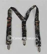 Camo Bow Tie and Suspenders