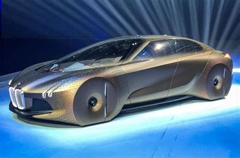 Bmw Vision Next 100 Concept Car Unveiled