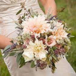 summer wedding flowers rustic dahlia and wedding bouquet a rustic bouquet of dahlias and roses