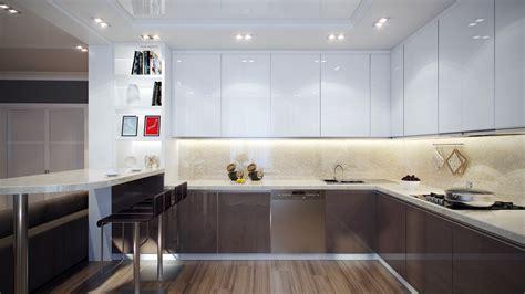 white gray kitchen interior design ideas