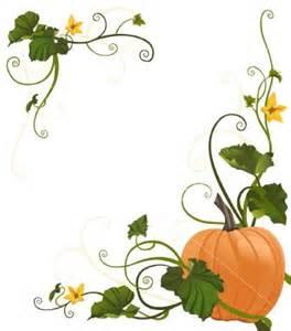 Pumpkin Vine Border
