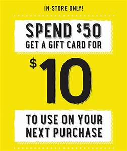 Forever 21: $10 Gift Card When You Spend $50 In-Store ...