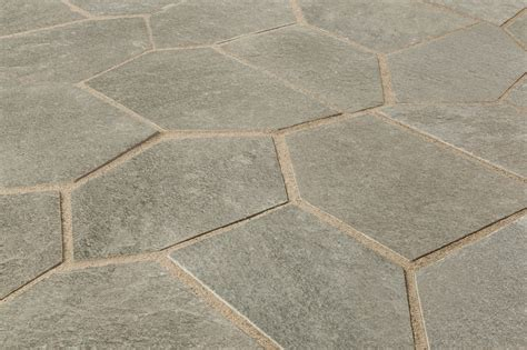 roterra slate tile meshed back patterns silver gray