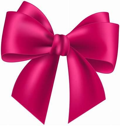 Bow Pink Clipart Clip Transparent Clipartmag