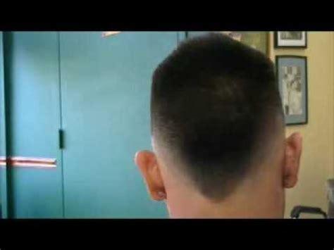 How to cut a skin mohawk fade   YouTube