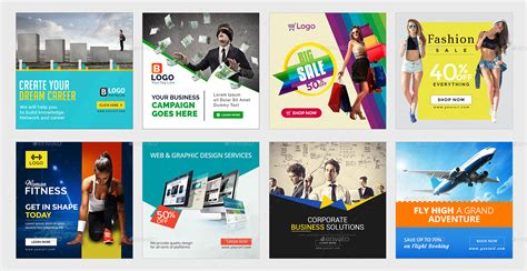 instagram ad templates 100 banners by hyov graphicriver