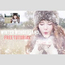 Winter Wonderland Free Ps Tutorial Adding A Textures And Snow Overlays  Kimla Designs And