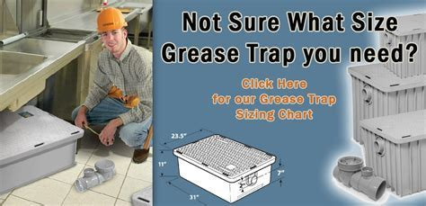 Plastic Grease Trap 25 GPM