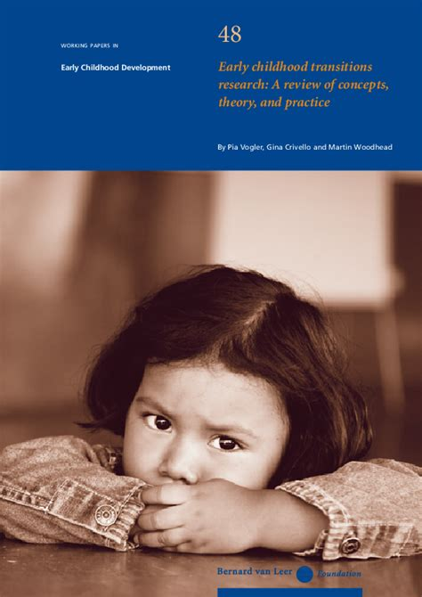 early childhood transitions research  review  concepts