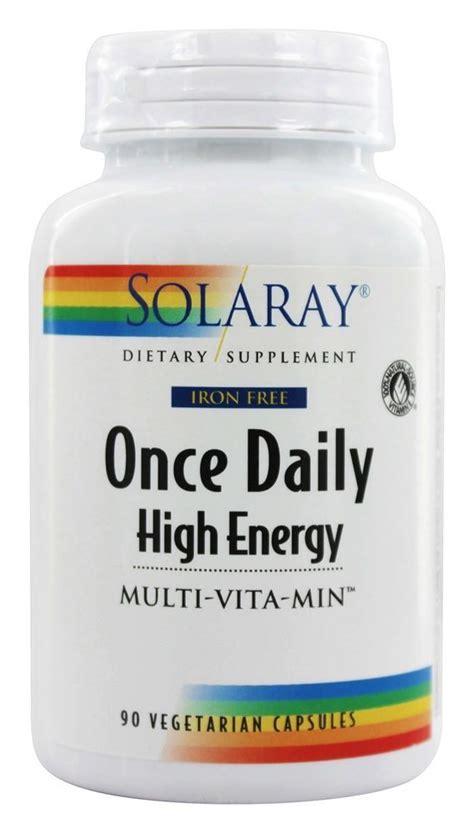 solaray once daily prenatal multivitamin 90 buy solaray once daily high energy multi vita min iron Buy