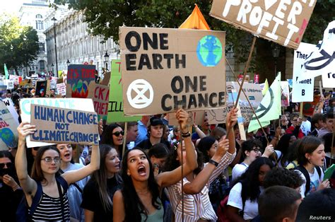 Worldwide Protest Launched Against Climate Change | Voice ...
