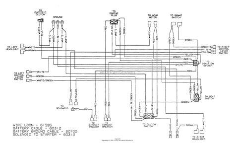 dixon ztr 6023 2002 parts diagram for wiring