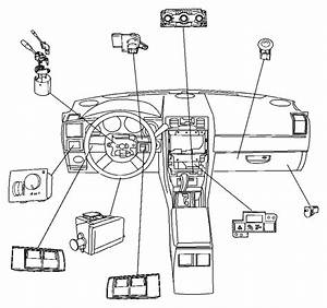 Dodge Magnum Wiring  A  C Control Head  Instrument  Panel