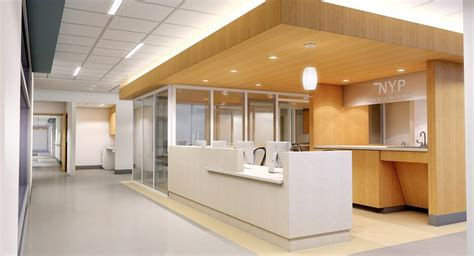 unc hospital it help desk station design study ada sink out of scale but