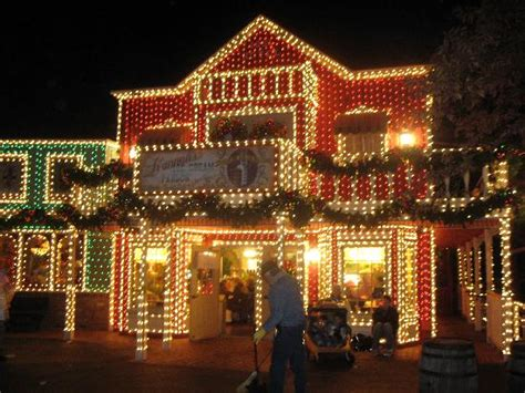 lights picture of silver dollar city branson