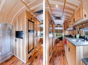 interior design shipping container homes restored 1954 airstream flying cloud travel trailer homedsgn