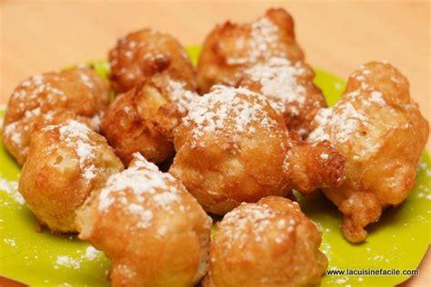 cuisine facile beignet antillais du mardi gras lacuisinefacile com
