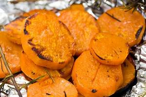 Grilled Rosemary Sweet Potatoes - NOURISH Evolution