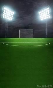 3x5FT Green Grass Football Soccer Court Field Dark Night ...