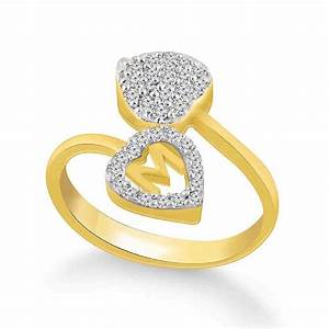 Stylish gold ring for girls siudynet for Gold ring models with letters
