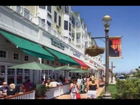 Pier Village Shops by Pier Village Oceanfront Community In Long Branch Nj Youtube