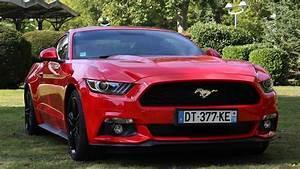 La Mythique Ford Mustang Arrive En France