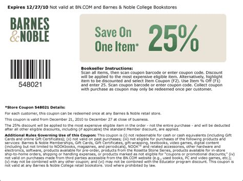 Promo Code Barnes And Noble by 301 Moved Permanently