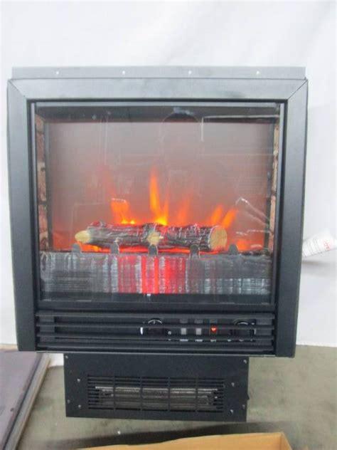franklin electric fireplace heater  mantel april