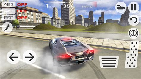 Extrime Car Driving Simulator 3d Lamborghini Aventador