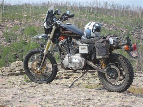 Off-road Harley Sportster Adventure