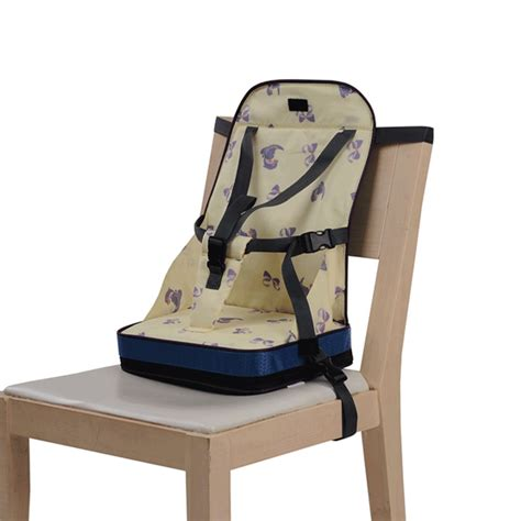 Baby Portable Booster Travel High Chair Harness Dinner