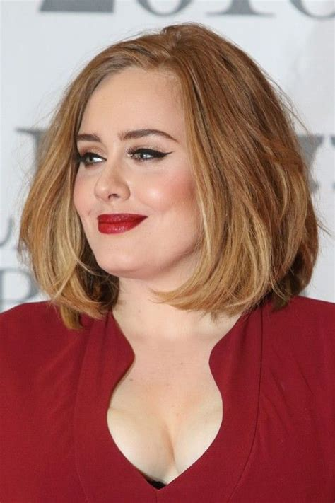 pin  beau haley  fat face haircuts   adele