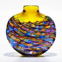 glass vases aztec glass vases by michael trimpol