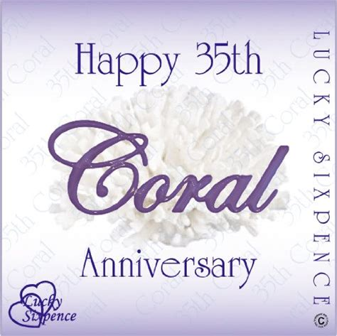 buy 35th birthday wedding anniversary happy 35th anniversary images