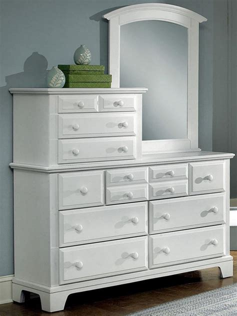 dressers with mirrors vanity dresser with mirror white doherty house create