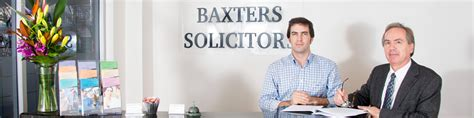 baxters solicitors home
