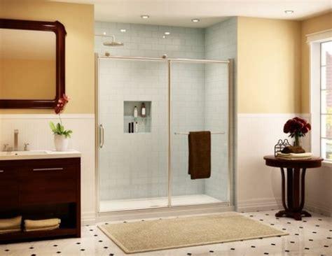 sliding door shower enclosures   contemporary bathroom
