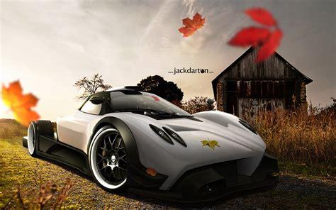 Pagani Zonda Super Car Hd Wallpapers
